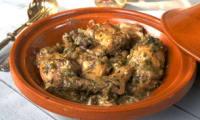 Tajine de lapin aux oignons et à la cannelle