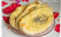 Naans indiens aux graines de pavot