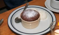 Gâteau fondant au chocolat, cœur de spéculoos