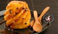 Ananas rôti à la broche