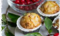 Muffins aux guignes et à l'amande