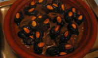 Tagine agneau, abricots, pruneaux secs, amandes : ragoût mhamar