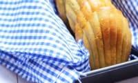 Des madeleines salées au pesto et saumon