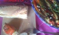 Antipasti de poivrons à la ciboulette et au persil