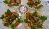 Coquilles Saint Jacques en salade