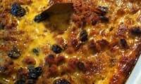 Bobotie, un pain de viande épicé traditionnel