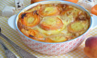 Clafoutis abricots et nougat