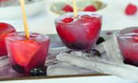 Popsicles Végan Eau de coco et fruits frais