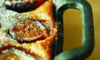 Clafoutis aux figues au sirop de vin de fruits