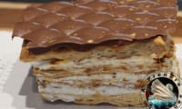 Mille-feuille vanille caramel de François Perret