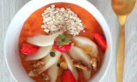 Smoothie bowl fraises mangue