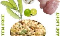 Salade de poulet citronnée épicée au gingembre