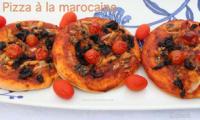 Pizza à la marocaine