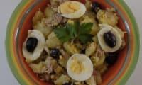 Salade de pommes de terre aux accents marocains
