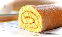 Gâteau roulé aux groseilles