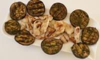 Aiguillettes de poulet marinées au barbecue solaire