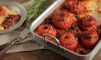 Tomates Farcies au Veau Herbes et Riz