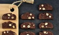 Cantucci chocolat noisette