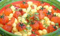 Gnocchis aux tomates cerises