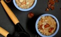 Riz au lait végétal, saveur miel et noisette