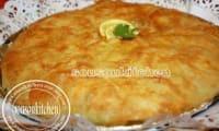Pastilla au poulet-feuilles de trid