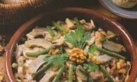 La salade aux champignons