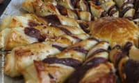 Tarte Soleil à la Pâte à tartiner et Noisettes