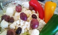 Salade grecque d'hiver