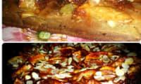 Gâteau fondant aux pommes, amandes et rhum