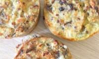 muffins quinoa oignons champignons