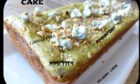 Cake aux courgettes, roquefort et Noisette
