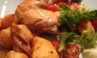 Poulet rôti mariné à l'origan