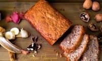 Banana Bread aux Noix et Éclats de Chocolat