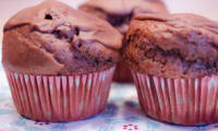 Muffins au chocolat, sans oeuf