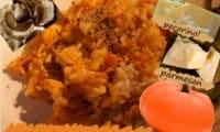 Risotto à la citrouille, champignons des bois, pecorino et parmesan