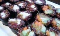 Maki au quinoa rouge
