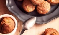 Muffins Banana bread pomme cannelle