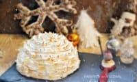 Dôme bûche de Noël