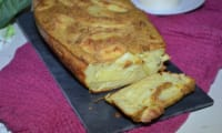 Gâteau invisible pommes de terre et roquefort