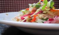 Salade vietnamienne de chou et poulet