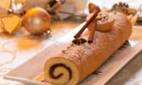 Roulé aux épices à la confiture de Noël