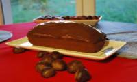 Cake à la noisette et à la crème de marrons sans lactose