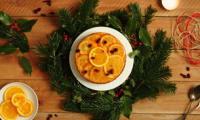 Gâteau imbibé à l'orange façon tatin