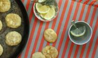 Cookies tout blancs - chocolat blanc, citron et riz soufflé