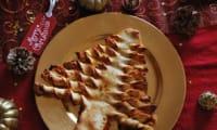 Pizza sapin pour une Noël entre copains