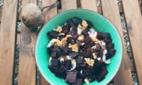 Salade d'endives et betteraves crues et cuites