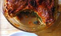 « Lasagnes » épinards-tomates séchées et mozzarella
