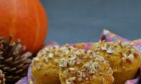 Muffin au potimarron noisette et épices