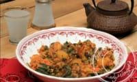 Rouz jerbi - riz djerbien au poulet