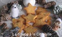 Etoiles sablées au gingembre confit